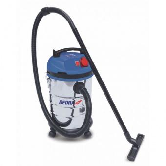 DEDRA vysavač průmyslový pro mokré i suché vysávání 30L 1400w DED6600