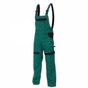 MAX kalhoty lacl 260g zelená/černá prodloužené