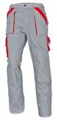 MAX kalhoty 260 g/m2 šedá/červená