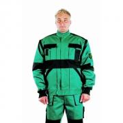 ČERVA Montérková bunda MAX bunda 2 v 1 zelená/černá
