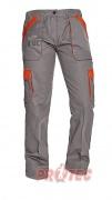 MAX LADY kalhoty dámské šedá/oranž