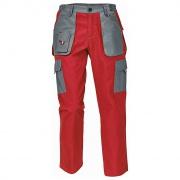 MAX EVO LADY kalhoty červená/šedá
