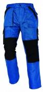 MAX kalhoty 260 g/m2 modrá/černá prodloužené