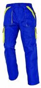MAX kalhoty 260 g/m2 modrá/žlutá