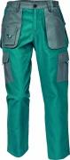 MAX EVO LADY kalhoty zelená/šedá pas