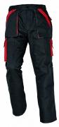 MAX kalhoty 260 g/m2 černá/červená