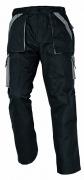 MAX kalhoty 260 g/m2 černá/šedá