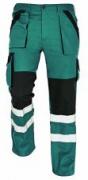MAX RFLX kalhoty zelená/černá