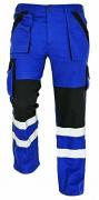 MAX RFLX kalhoty modrá/černá