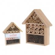hotel hmyzí 30x24,3x9,2cm dřevěný -pouze 1ks