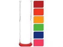 houpačka dětská s lanem 42x16,5x2,5cm, nosnost 40kg, PH mix barev