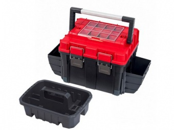 kufr na nářadí TOOLBOX HD COMPACT 2 CARBO 515x350x350mm